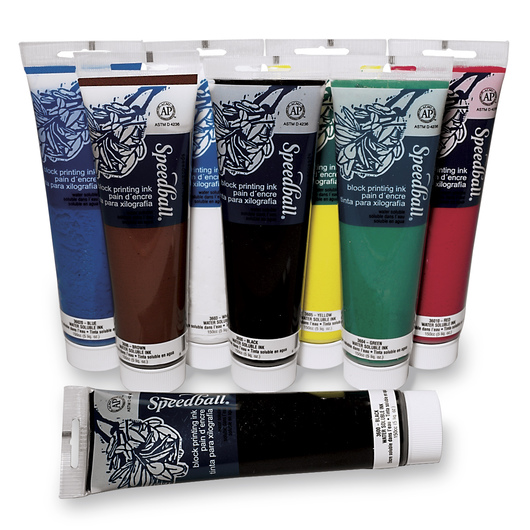 Speedball® Water-Soluble 8-Color Set - 5-oz. Tubes