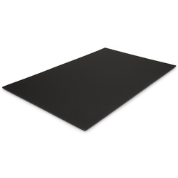 Black On Black Foamboard, 20 in. x 30 in. x 3/16 in.