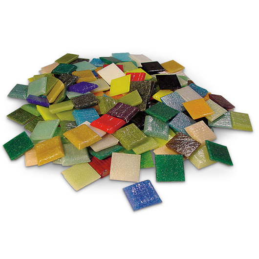 Vitreous Glass Mosaic Tile Value Pack - Pkg. of 450
