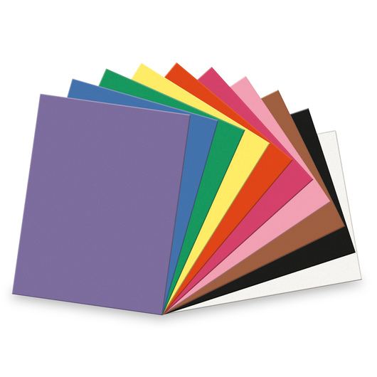 Pacon® SunWorks® Assorted Construction Paper - 18 in. x 24 in.