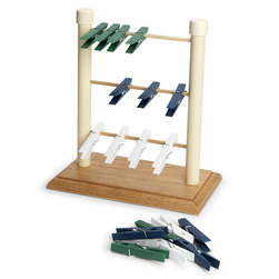 Clothespin Ladder