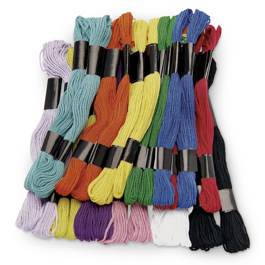 Pacon® Economy Embroidery Floss - Pkg. of 24 Skeins