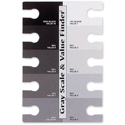 Gray Scale & Value Finder™ - Set of 12