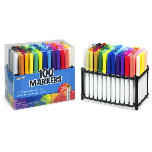 Fibracolor Markers - Set of 100