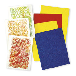Roylco® Texture Rubbing Plates - Set of 4