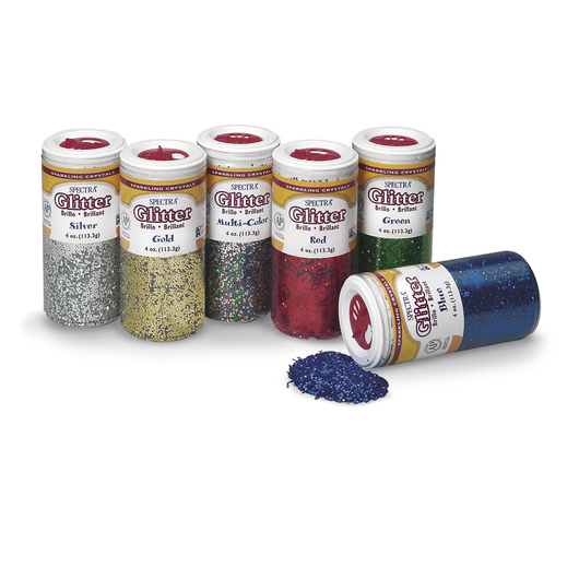 Pacon® Spectra® Sparkling Crystals Glitter - Set of 6