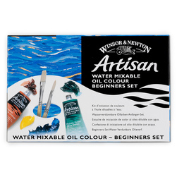 Winsor & Newton™ Artisan™ Water-Mixable Oil Colors - Set of 6 - 37 ml Tubes