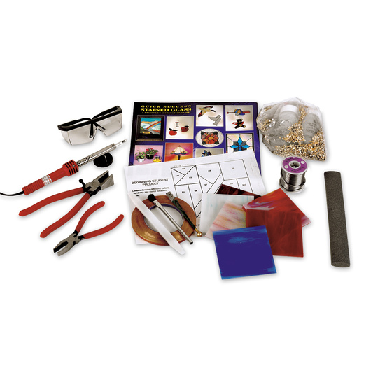 Beginner's Complete Stained Glass Kit