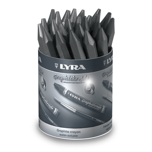 LYRA® Water Soluble Graphite Crayons - Sets of 24