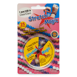 Stretch Magic Clear Jewelry Cord
