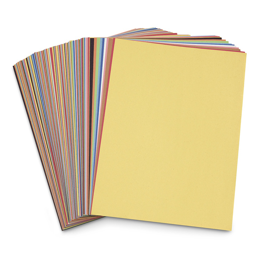 Pacon® Rainbow® Super Value Packs of Construction Paper - Pkg. of 200 - 50 lb. - 9 in. x 12 in. - 10 Colors