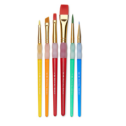 Big Kids Choice Brush 6 Piece Set
