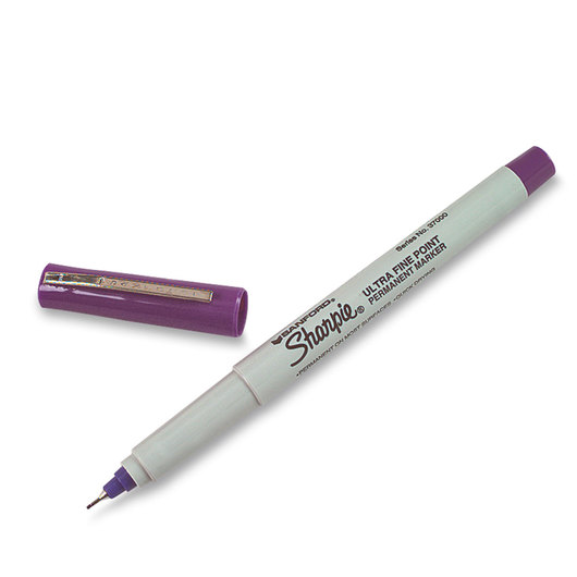 Sharpie® Ultra-Fine Point Markers - Box of 12 - Purple