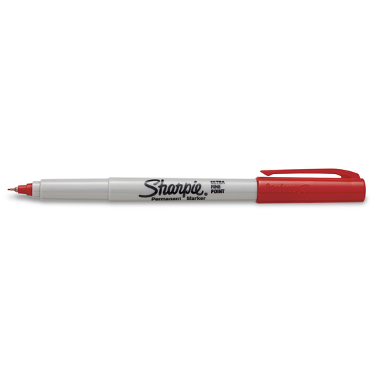 Sharpie® Ultra-Fine Point Markers - Box of 12 - Racey Red