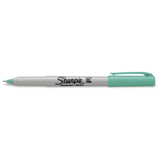 Sharpie® Ultra-Fine Point Markers - Box of 12 - Jetset Jade