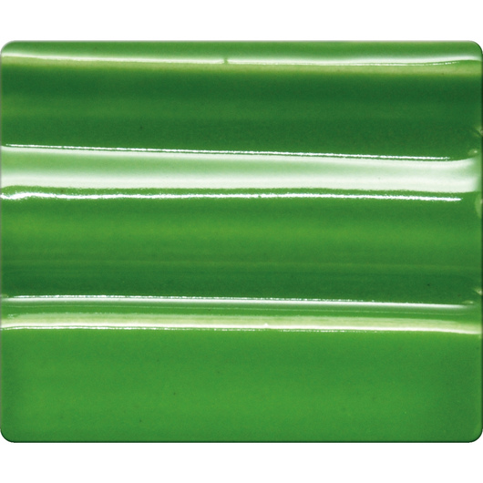Spectrum® Opaque Gloss Glaze - Pint Jar - Grass Green
