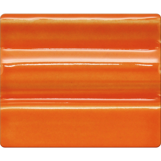 Spectrum® Opaque Gloss Glaze - Pint Jar - Bright Orange