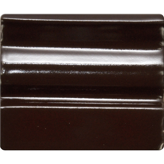 Spectrum® Opaque Gloss Glaze - Pint Jar - Chocolate Brown