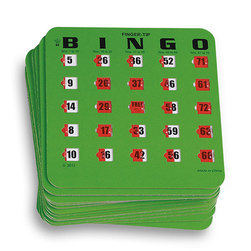 Fingertip Slide Bingo Cards