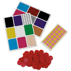 Nasco All Colors Bingo Game