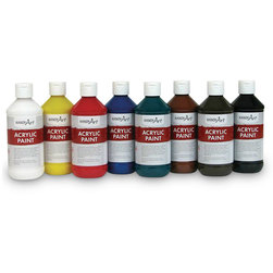 Handy Art® Acrylic Paint - Set of Eight 8-oz. Bottles