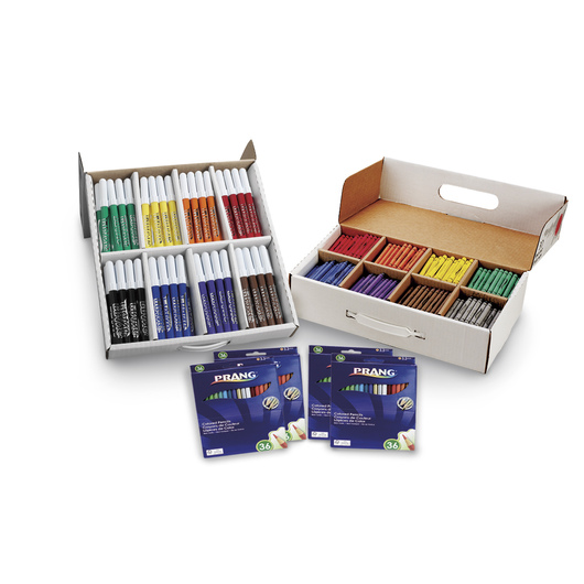 PRANG® Classroom Coloring Assortment
