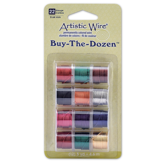 "Artistic Wire® ""Buy the Dozen"" Copper Wire Spools - 22 Gauge"