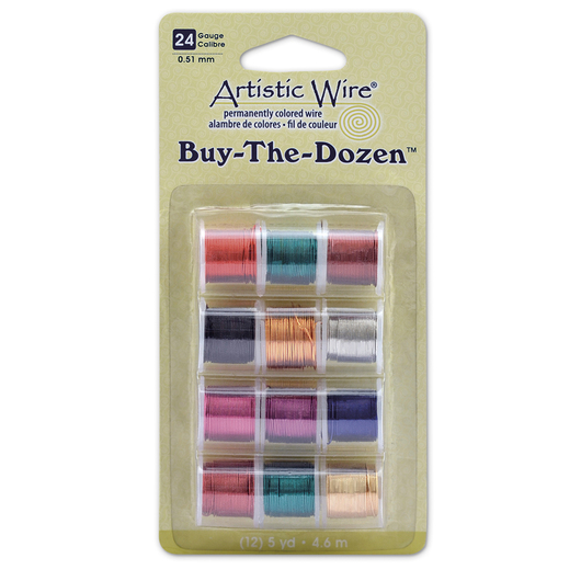 "Artistic Wire® ""Buy the Dozen"" Copper Wire Spools - 24 Gauge"