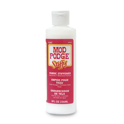 Mod Podge Stiffy Fabric Stiffener