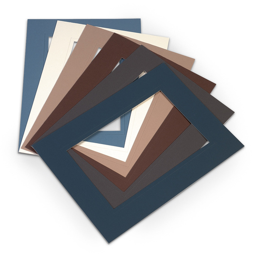 <q>Show-Off</q> Mats - 9 in. x 12 in. - Assorted Colors - Pkg. of 12 - from Stu-Art
