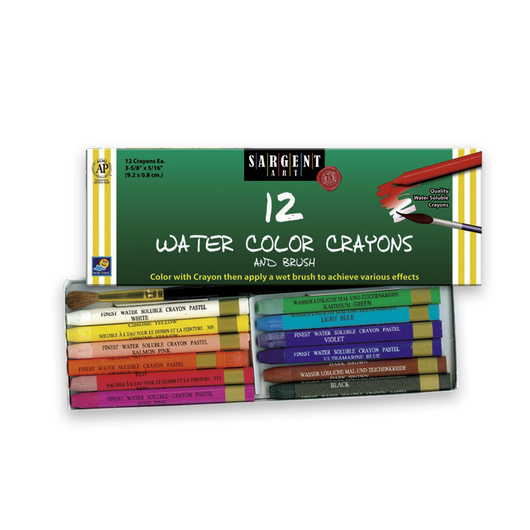 Sargent Art® Watercolor Crayons - Set of 12