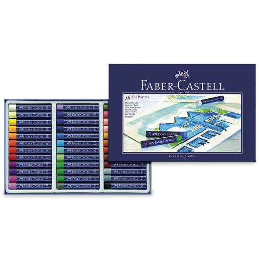 Faber-Castell® Creative Studio® Oil Pastels - Set of 36