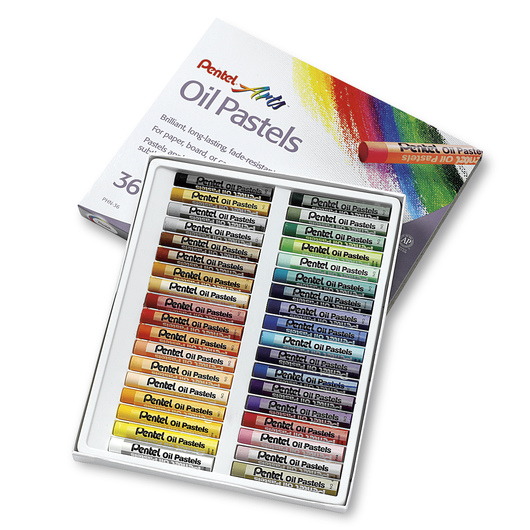 Pentel® Oil Pastels - 36-Color Set
