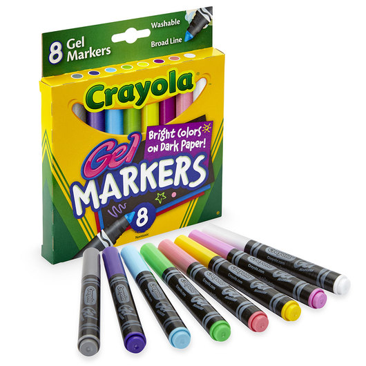 Crayola® Washable® Gel Markers - Set of 8