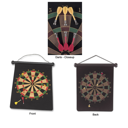 Two-Sided Magnetic Dart Game
