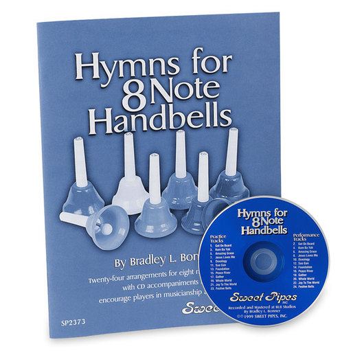 Handbell Song Book & CD Set - Hymns for 8 Note Handbells