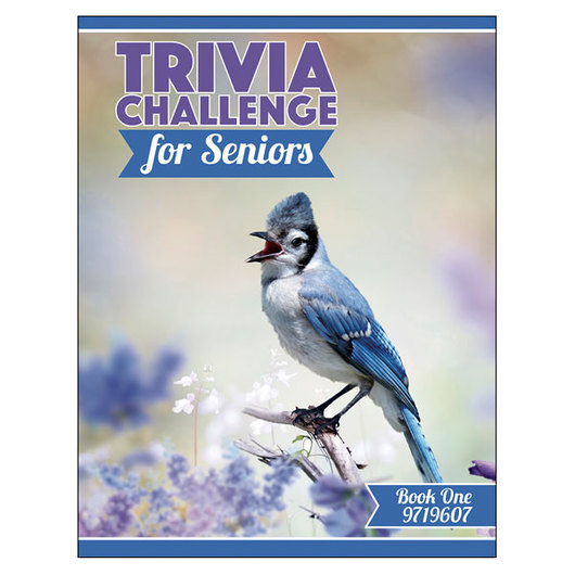 Trivia Challenge for Seniors - Book 1