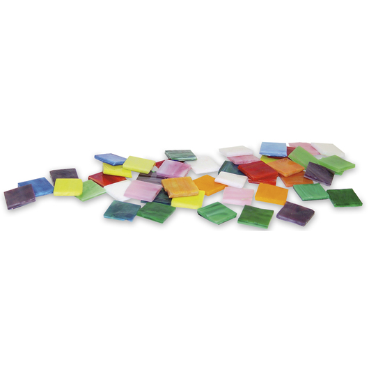 Mosaic Art Glass - 4-lb. Bag - 3/4 in.