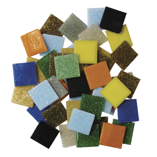 3/4 Venetian Glass Tile Mix - 3-lb. Bag