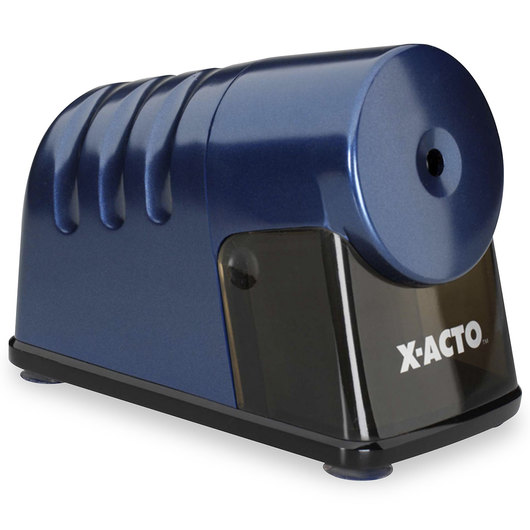 X-ACTO® PowerHouse® Heavy-Duty Electric Pencil Sharpener - Blue