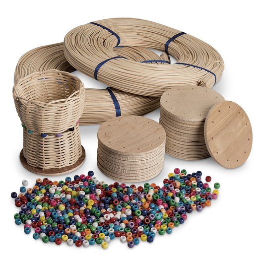 Classroom Basketry Project Group Kit - 25 Baskets