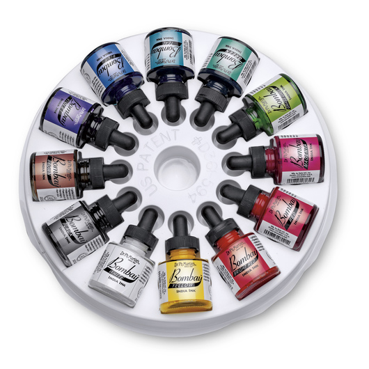 Dr. Ph. Martin's® Bombay India Ink - 12-Color Set
