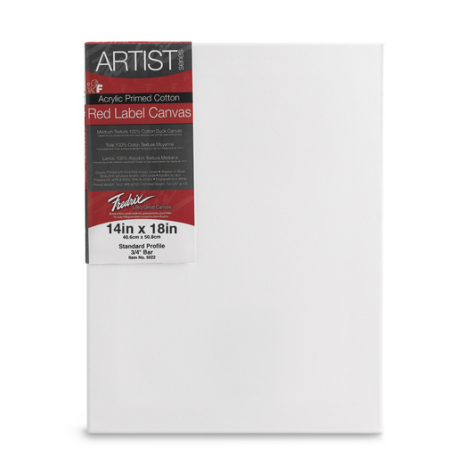 Fredrix® Artist Red Label Stretched Canvas - 14 in. x 18 in.