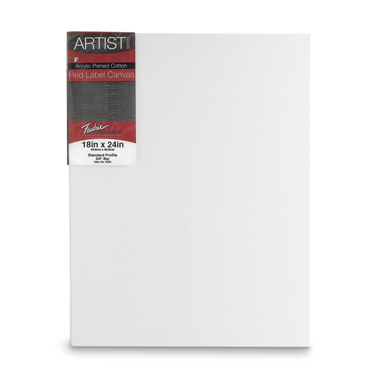 Fredrix® Artist Red Label Stretched Canvas - 18 in. x 24 in.