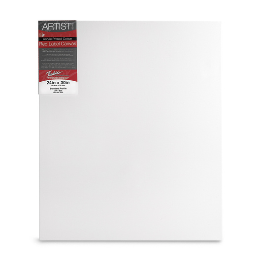 Fredrix® Artist Red Label Stretched Canvas - 24 in. x 30 in.