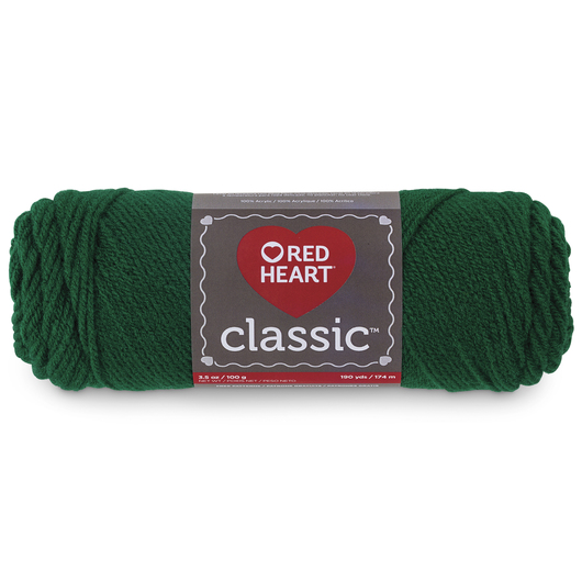 Red Heart Classic™ Knitting Yarn - Paddy Green