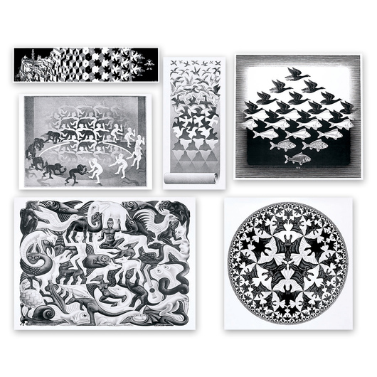 Escher Tessellation Poster Set