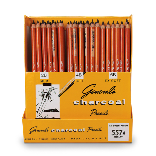 General's® Charcoal Pencils - Classroom Pack of 72