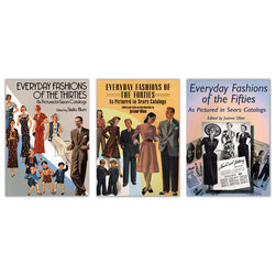 Everyday Fashions of the Thirties, Forties, and Fifties