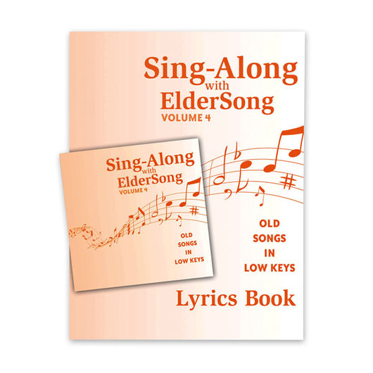 Sing-Along with Eldersong, Volume 4 CD & Song Book
